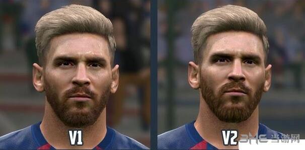 实况足球2016梅西全新金色发型MOD截图0