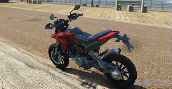 侠盗猎车手5杜卡迪Hypermotard摩托车MOD截图1