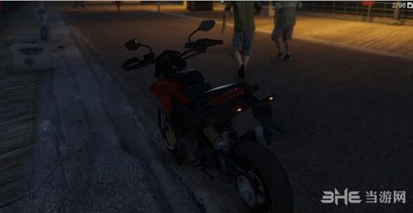 侠盗猎车手5杜卡迪Hypermotard摩托车MOD截图4