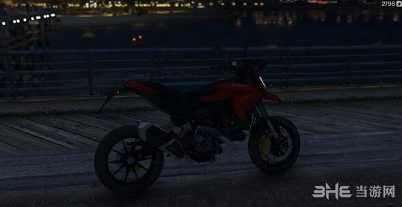 侠盗猎车手5杜卡迪Hypermotard摩托车MOD截图3