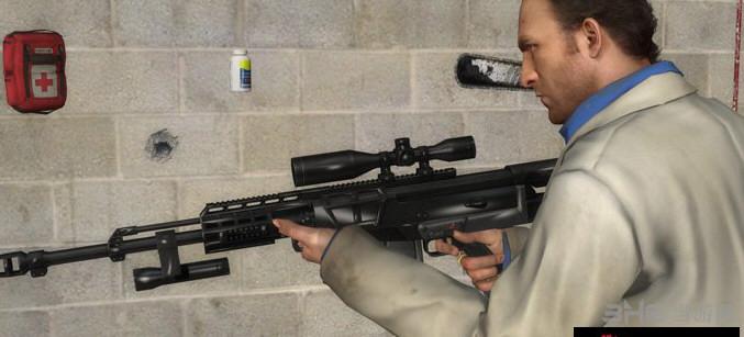 求生之路2巴雷特As.50狙击枪MOD截图2