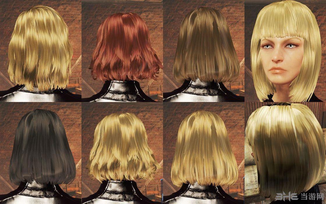 辐射4更柔顺光泽的长发MOD截图1