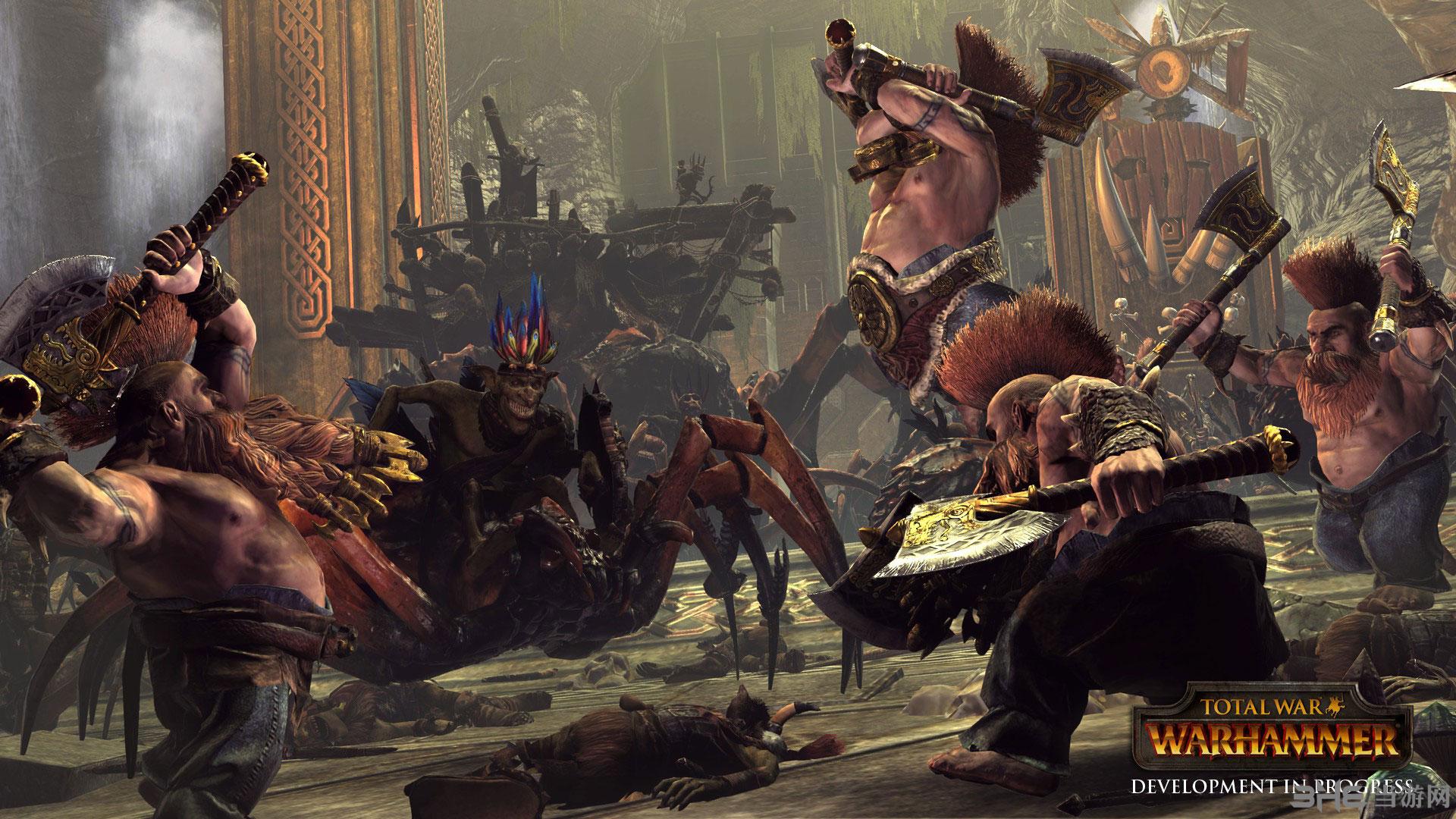 全面战争:战锤去混沌、吸血鬼、雪地、山地损耗MOD截图0