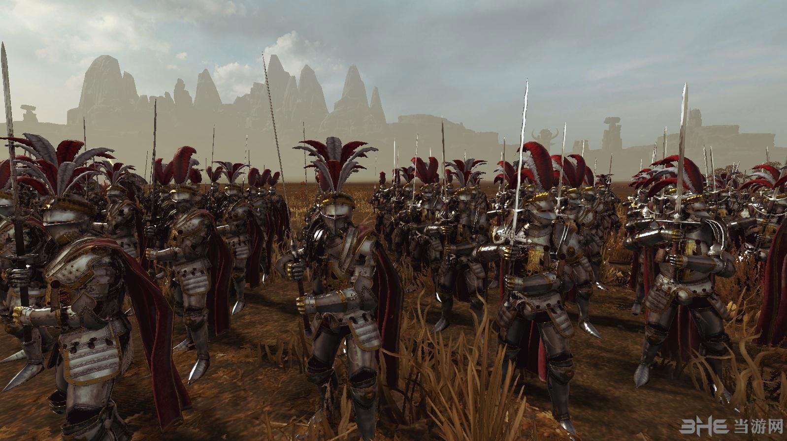 全面战争:战锤帝国兵种兵模MOD截图0