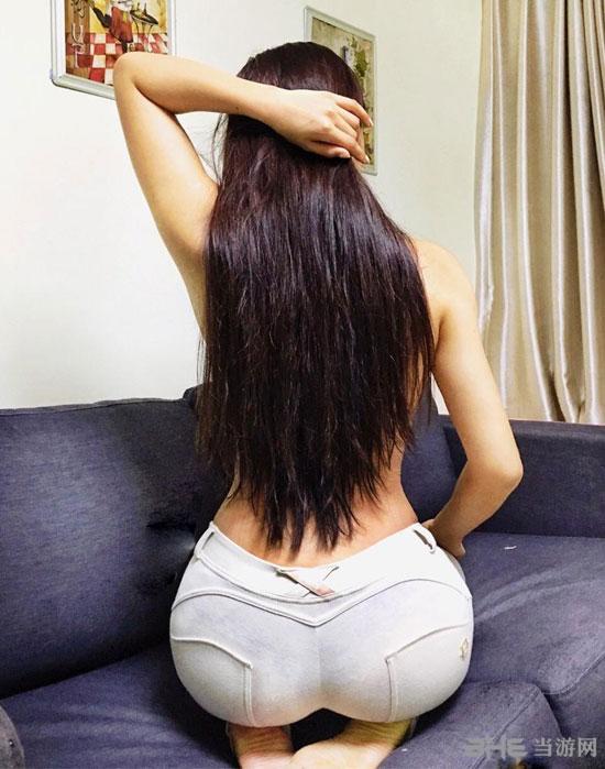 中国姑娘因美臀走红2