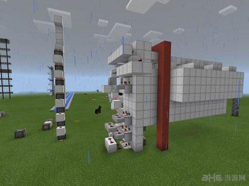 我的世界红石活塞电梯制作方法截图5