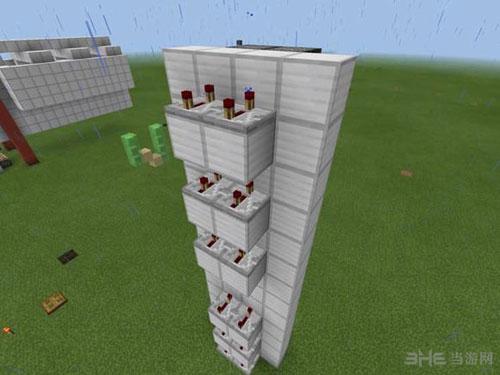 我的世界红石活塞电梯制作方法截图26