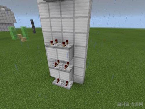 我的世界红石活塞电梯制作方法截图24