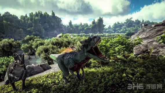 方舟生存进化游戏截图1