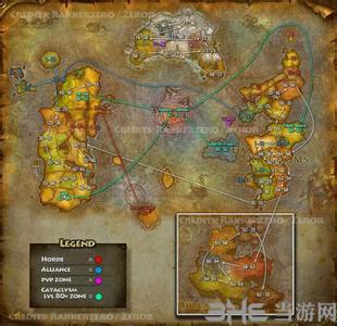魔兽世界地图1