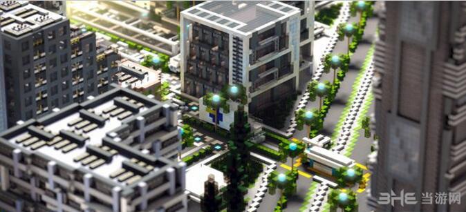 我的世界UIE城市地图包截图0