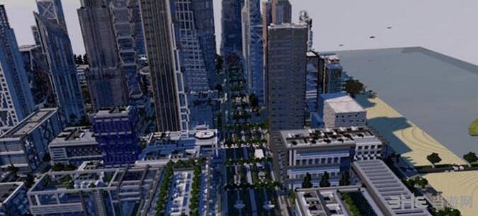 我的世界UIE城市地图包截图4