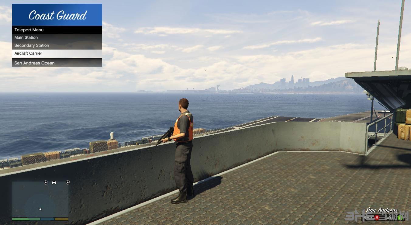 侠盗猎车手5海岸警卫队MOD截图1