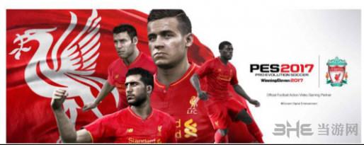 实况足球与利物浦足球俱乐部合作宣传图