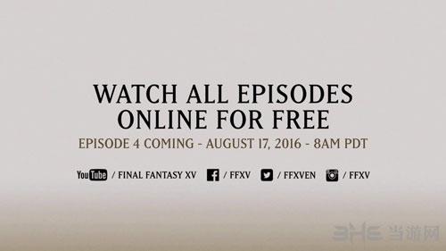 最终幻想15动画宣传片截图3