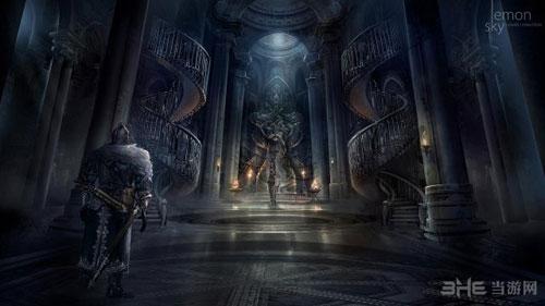 黑暗之魂3DLC原画1