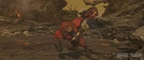 怪物猎人OL炎狮子招式截图2