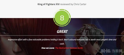 拳皇14媒体评分截图5