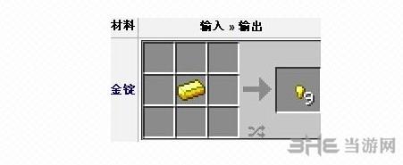 我的世界金粒合成截图1