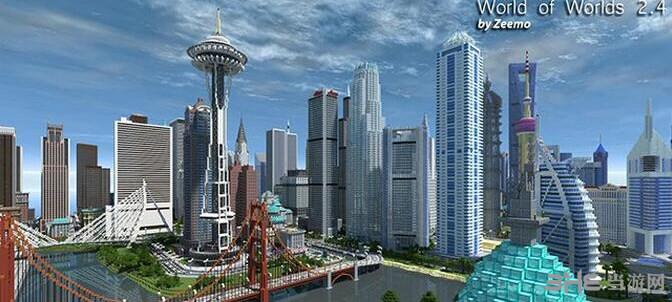 我的世界世界之城地图包截图0