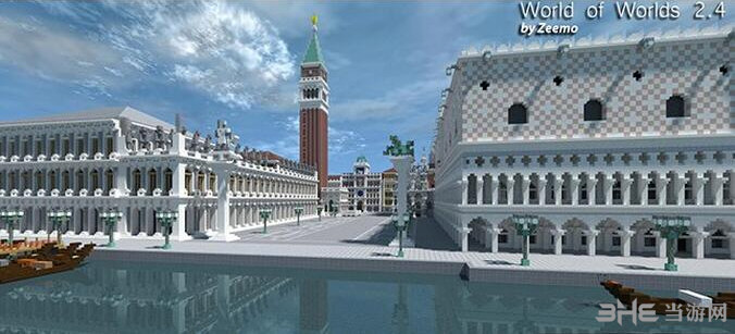 我的世界世界之城地图包截图2