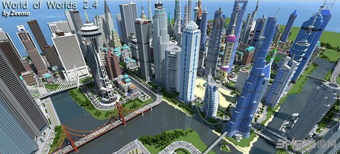 我的世界世界之城地图包截图5
