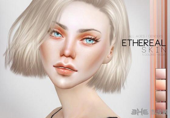 模拟人生4 PS空灵的皮肤MOD截图1