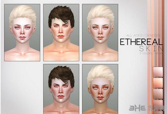 模拟人生4 PS空灵的皮肤MOD截图2