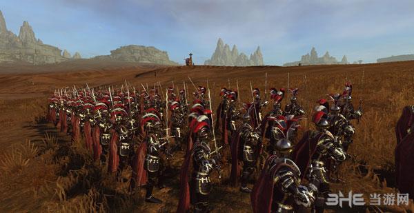 全面战争:战锤帝国兵种黑金风格兵模MOD截图2