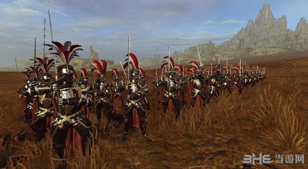 全面战争:战锤帝国兵种黑金风格兵模MOD截图1