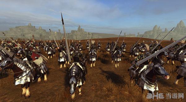 全面战争:战锤帝国兵种黑金风格兵模MOD截图4