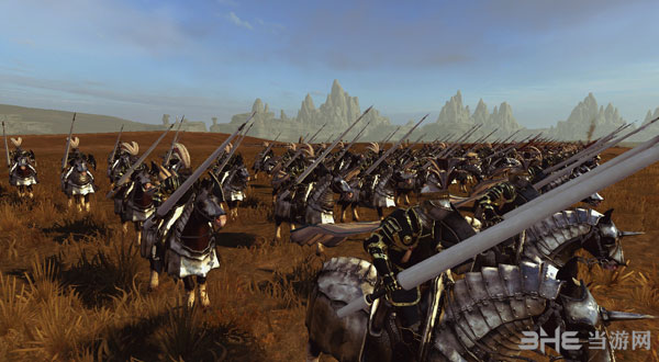 全面战争:战锤帝国兵种黑金风格兵模MOD截图5