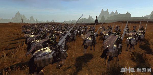 全面战争:战锤帝国兵种黑金风格兵模MOD截图6