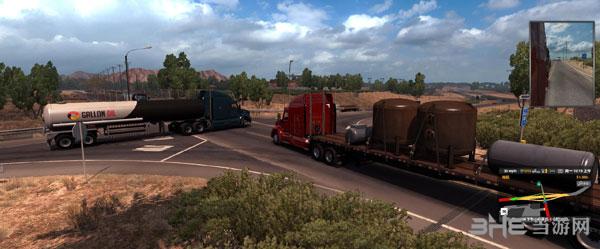 美国卡车模拟中文地图MOD截图3