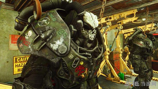 辐射4战争涂鸦动力甲涂装MOD截图1