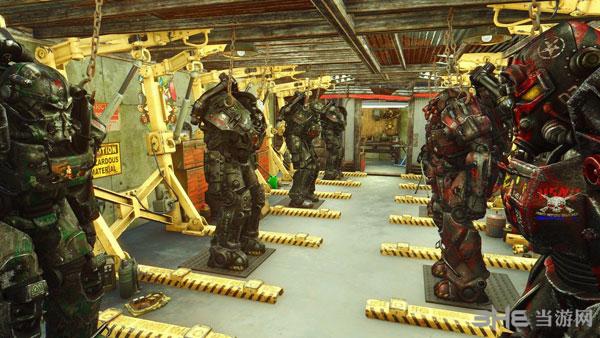 辐射4战争涂鸦动力甲涂装MOD截图2