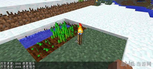 我的世界1.9.4加速火把MOD截图2