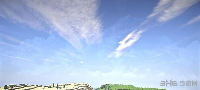 我的世界1.9唯美天空光影整合包截图4