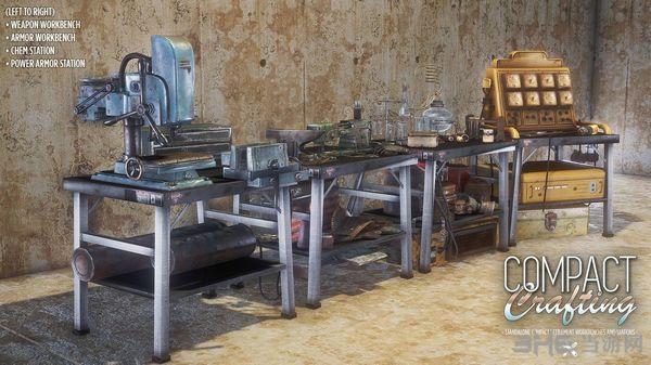 辐射4精简版工作台MOD截图4