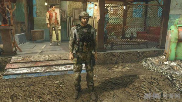 辐射4 Outlawer的服装包MOD截图2