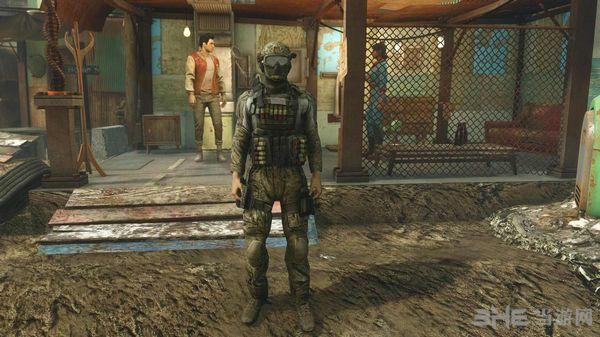 辐射4 Outlawer的服装包MOD截图3