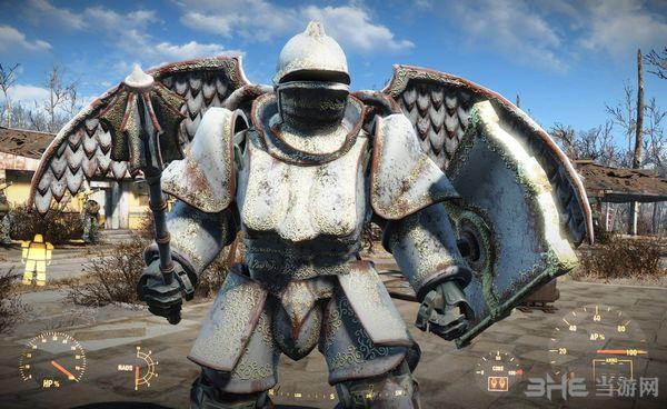 辐射4中世纪骑士风格动力甲MOD截图2