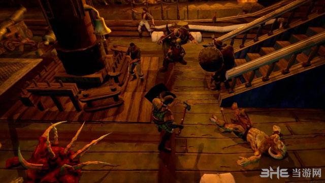 斗士:海盗船截图1