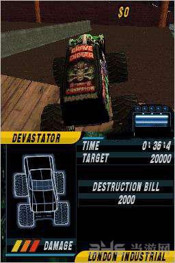 怪兽卡车:都市乱斗截图1