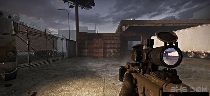 求生之路2 MK20/H 狙击辅助步枪MOD截图1