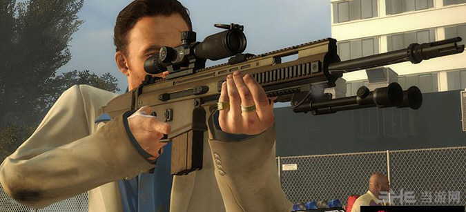 求生之路2 MK20/H 狙击辅助步枪MOD截图0