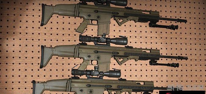 求生之路2 MK20/H 狙击辅助步枪MOD截图2
