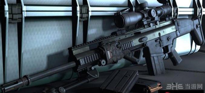 求生之路2 MK20/H 狙击辅助步枪MOD截图3
