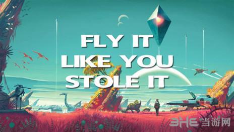 无人深空自由飞翔MOD截图0