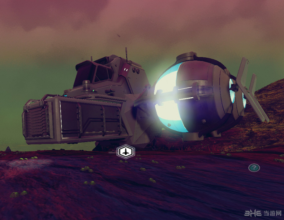 无人深空运输机球光色改变mod截图2